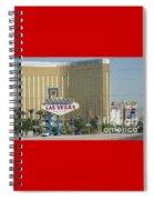 Viva Las Vegas Spiral Notebook