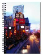 Viva Las Vegas Painting Spiral Notebook