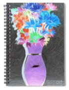 Vivid Arrangement Spiral Notebook