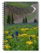 Vivid Colors Of The Colorado Alpine Spiral Notebook