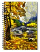 Vivid Pipeline Trail Spiral Notebook