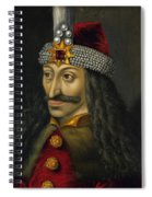 Vlad The Impaler Portrait  Spiral Notebook