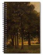 Vladimir Donatovich Orlovsky  Russian 1842  1914 Summer Landscape Spiral Notebook