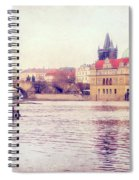 Vltava Ride Spiral Notebook