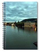 Vltava View 2 Spiral Notebook