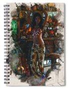 Vodoo Child Spiral Notebook