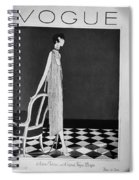Vogue Magazine, 1925 Spiral Notebook