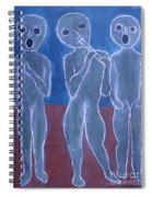 Voices And Music Spiral Notebook