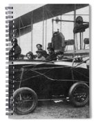 Voisin Flying Machine, 1912 Spiral Notebook