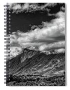 Volcan De Fuego - Bnw - Antigua Guatemala Spiral Notebook