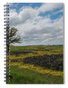 Volcanic Blooms Spiral Notebook