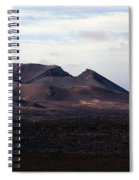 Volcano 1 Spiral Notebook