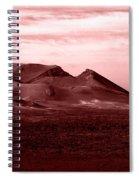 Volcano 3 Spiral Notebook