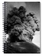 Volcano: Java, 1910 Spiral Notebook