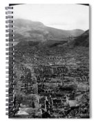 Volcano: Mount Pelee, 1902 Spiral Notebook