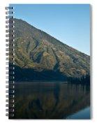 Volcano Reflected In Atitlan Lake 5 Spiral Notebook