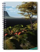 Volcano View Spiral Notebook