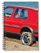 volkswagen Golf II  Spiral Notebook
