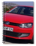 Volkswagen Polo Spiral Notebook