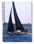 Volvo Ocean Race Team Brunel Spiral Notebook