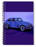 Volvo Pv 544 1958 Mixed Media Spiral Notebook