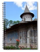 Voronet Monastery Spiral Notebook