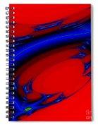 Vortex Extreme Fractal Spiral Notebook