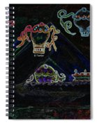 Voyages Oniriques / Dreamlike Trips Spiral Notebook