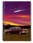 Vintage Stars Spiral Notebook