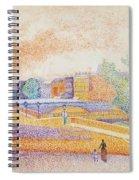 Vue De Paris 1885 Spiral Notebook