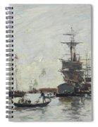 Vue De Venise Spiral Notebook