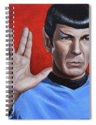 Vulcan Farewell Spiral Notebook