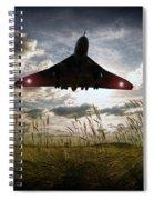 Vulcan Touching Down Spiral Notebook