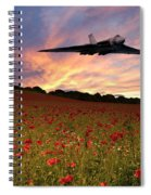 Vulcans End Spiral Notebook