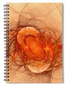 Vulcans Fire Spiral Notebook