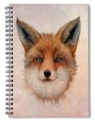 Vulpes Vulpes Spiral Notebook