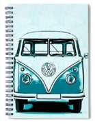 Vw Van Graphic Artwork Spiral Notebook