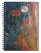 W 003 - Double Moon Spiral Notebook