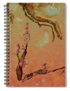 Wabi Sabi Ikebana Spiral Notebook