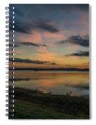 Wachusett Reservoir  Spiral Notebook