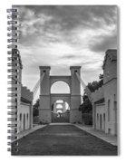 Waco Historical Suspension Bridge Spiral Notebook