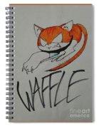 Waffle Spiral Notebook