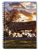 Wagon Hdr Spiral Notebook
