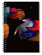 Wagon Train To The Stars 2 Spiral Notebook
