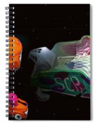 Wagon Train To The Stars 3 Spiral Notebook