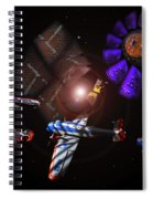 Wagon Train To The Stars Spiral Notebook
