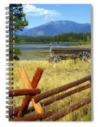 Wagon West Spiral Notebook