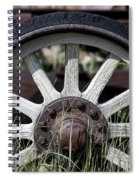 Wagon Wheel Spiral Notebook