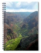 Waiamea Canyon Kauai Spiral Notebook