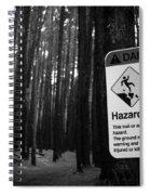 Waihou Spring Trail Waihou Spring Forest Reserve Maui Hawaii Spiral Notebook